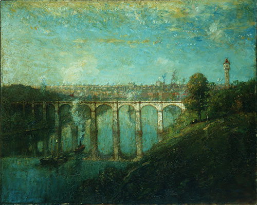 High Bridge New York 1905 | Henry Ward Ranger | Oil Painting
