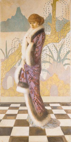 Mrs. Ethel Cushing 1912 | Howard Cushing | Oil Painting