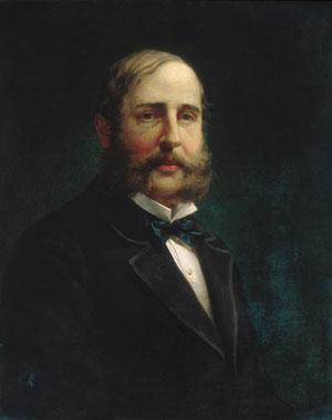 Self portrait 1870 | Jacob Hart Lazarus | Oil Painting