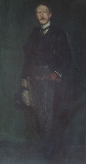 Edward Guthrie Kennedy 1893   James Abbott McNeill Whistler   Oil Painting