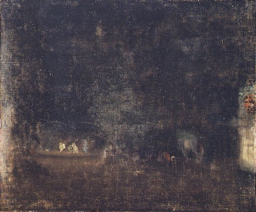 Nocturne in Green and Gold 1877 | James Abbott McNeill Whistler | Oil Painting