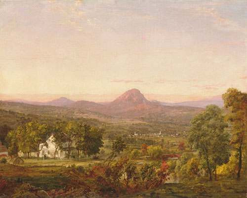Autumn Landscape Sugar Loaf Mountain Orange County New York 1870 | Jasper Francis Cropsey | Oil Painting