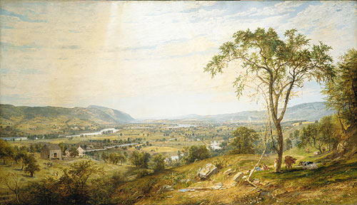 The Valley of Wyoming 1865 | Jasper Francis Cropsey | Oil Painting