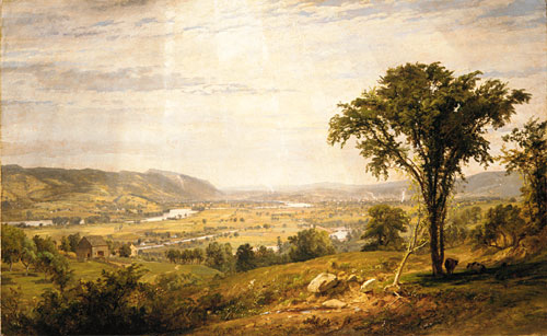 Wyoming Valley Pennsylvania 1864 | Jasper Francis Cropsey | Oil Painting