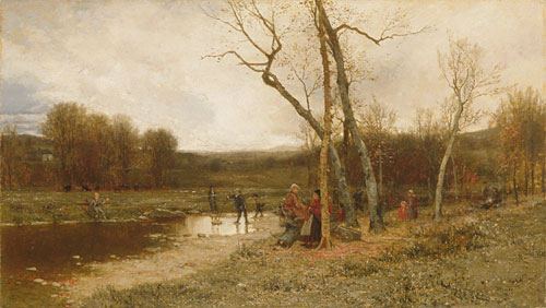 Saturday Afternoon 1875 | Jervis McEntee | Oil Painting