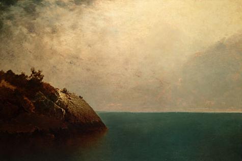 A Foggy Sky 1872 | John F Kensett | Oil Painting