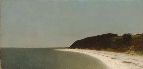 Eaton's Neck Long Island 1872 | John F Kensett | Oil Painting