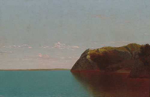 Newport Rocks 1872 | John F Kensett | Oil Painting