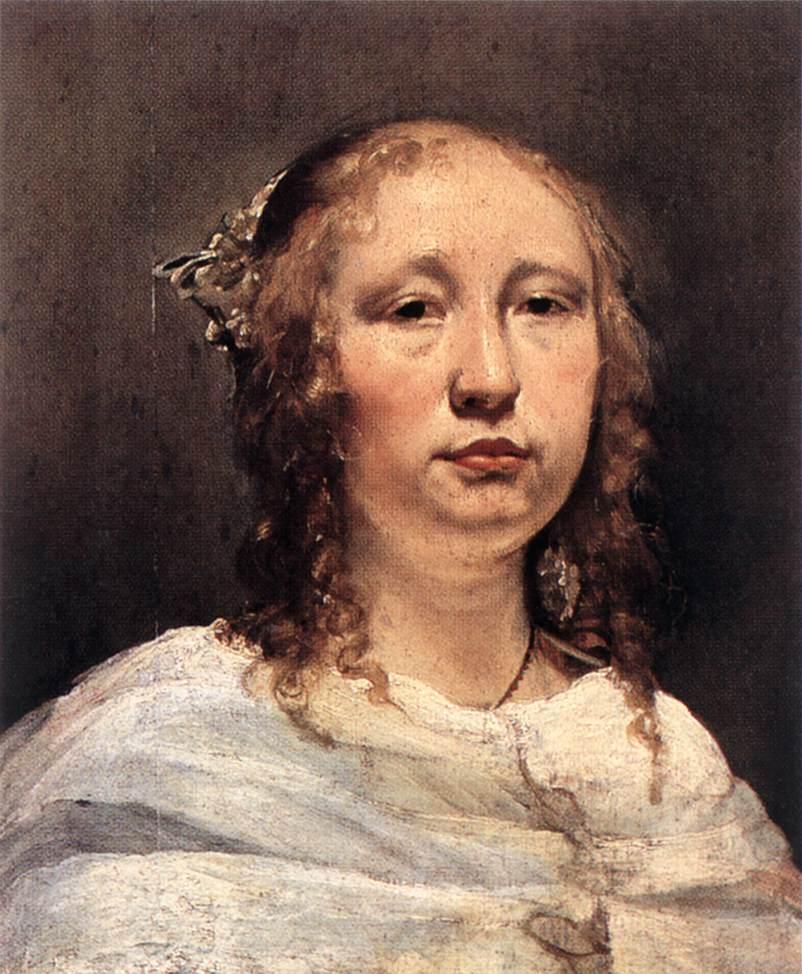 Portrait Of A Young Woman | Jan De Bray | Oil Painting