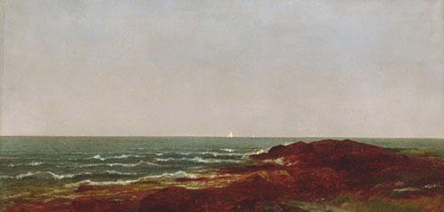 The Sea 1872 | John F Kensett | Oil Painting