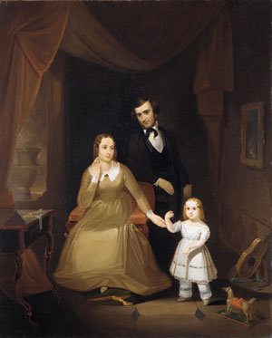 The Williamson Family 1841 | John Mix Stanley | Oil Painting