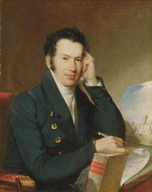 John Haviland 1828   John Neagle   Oil Painting