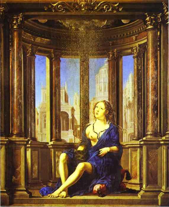 Danae 1527 | Jan Gossaert | Oil Painting