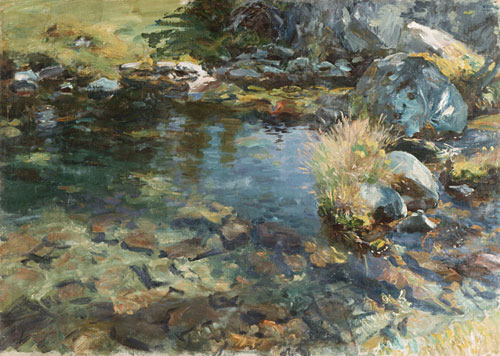 Alpine Pool 1907 | John Singer Sargent | Oil Painting