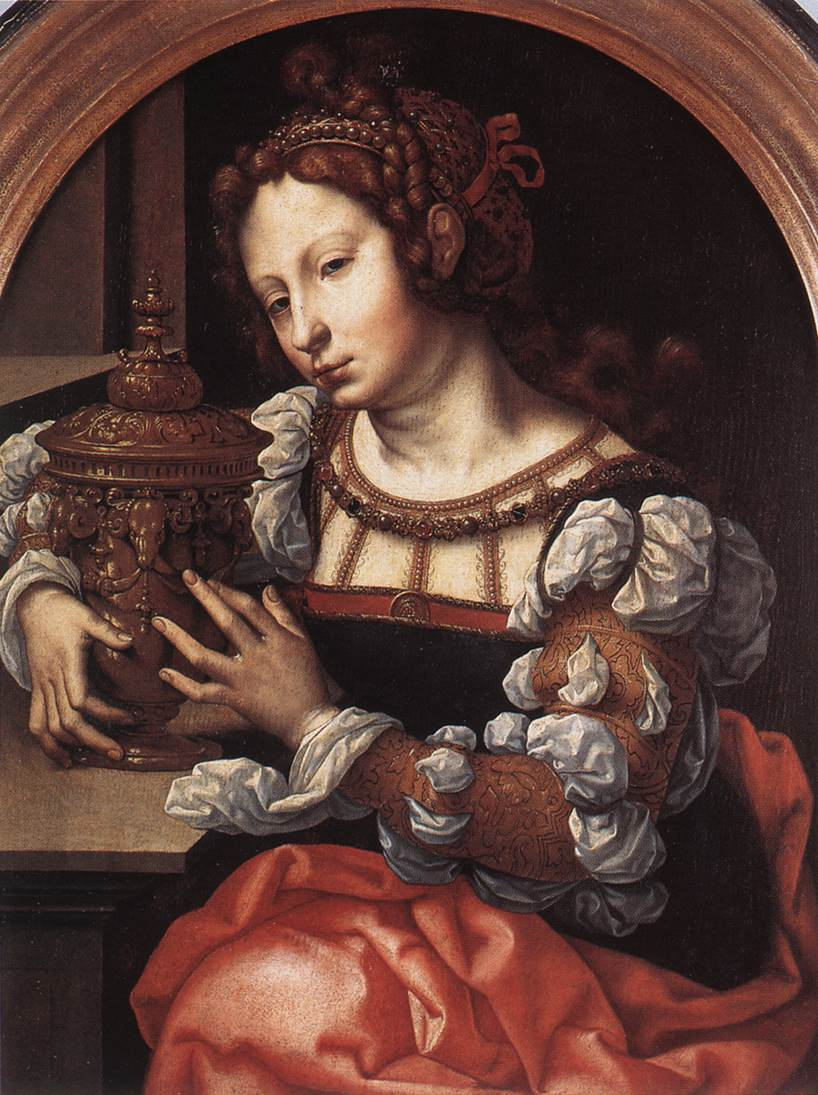 Lady Portrayed As Mary Magdalene | Jan Gossaert | Oil Painting