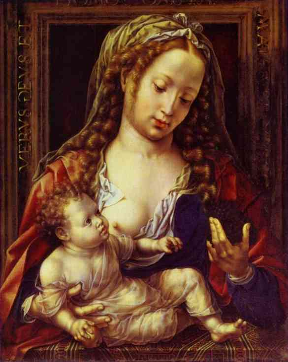 Madonna And Child 1530 | Jan Gossaert | Oil Painting