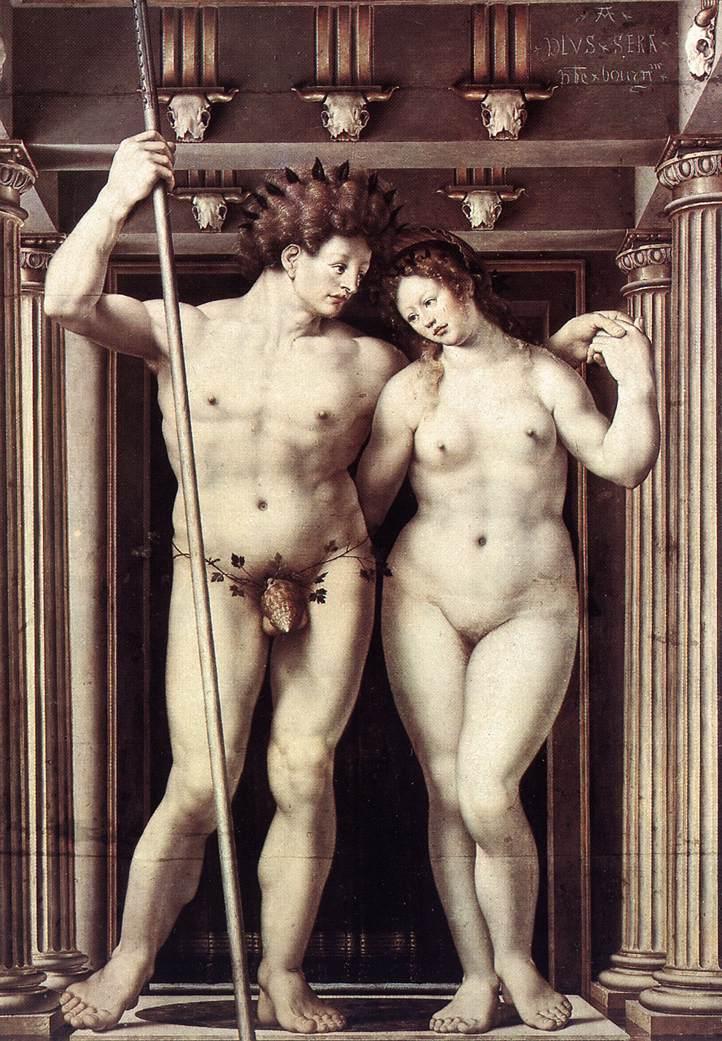 Neptune And Amphitrite 1516 | Jan Gossaert | Oil Painting