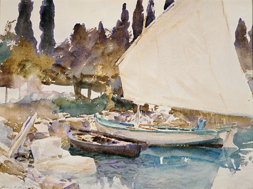 Boats 1913 | John Singer Sargent | Oil Painting