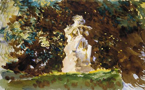 Boboli Garden Florence | John Singer Sargent | Oil Painting