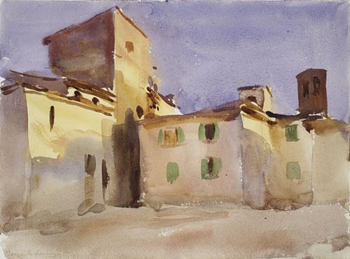 Borgo San Lorenzo (1) ca 1910 | John Singer Sargent | Oil Painting