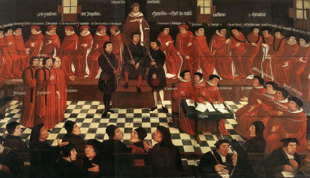 The High Council | Jan Gossaert | Oil Painting