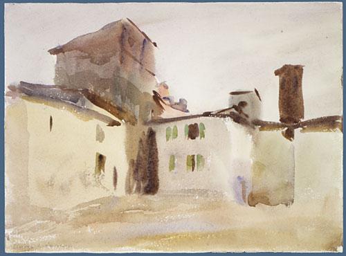 Borgo San Lorenzo (2) ca 1910 | John Singer Sargent | Oil Painting