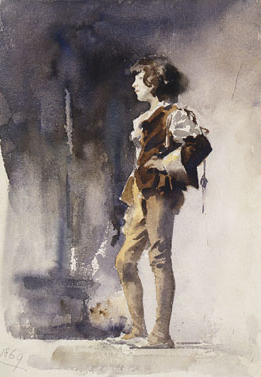 Boy in Costume Early 1880s | John Singer Sargent | Oil Painting