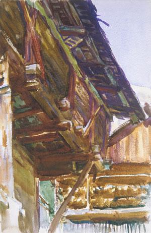 Chalet 1912 | John Singer Sargent | Oil Painting