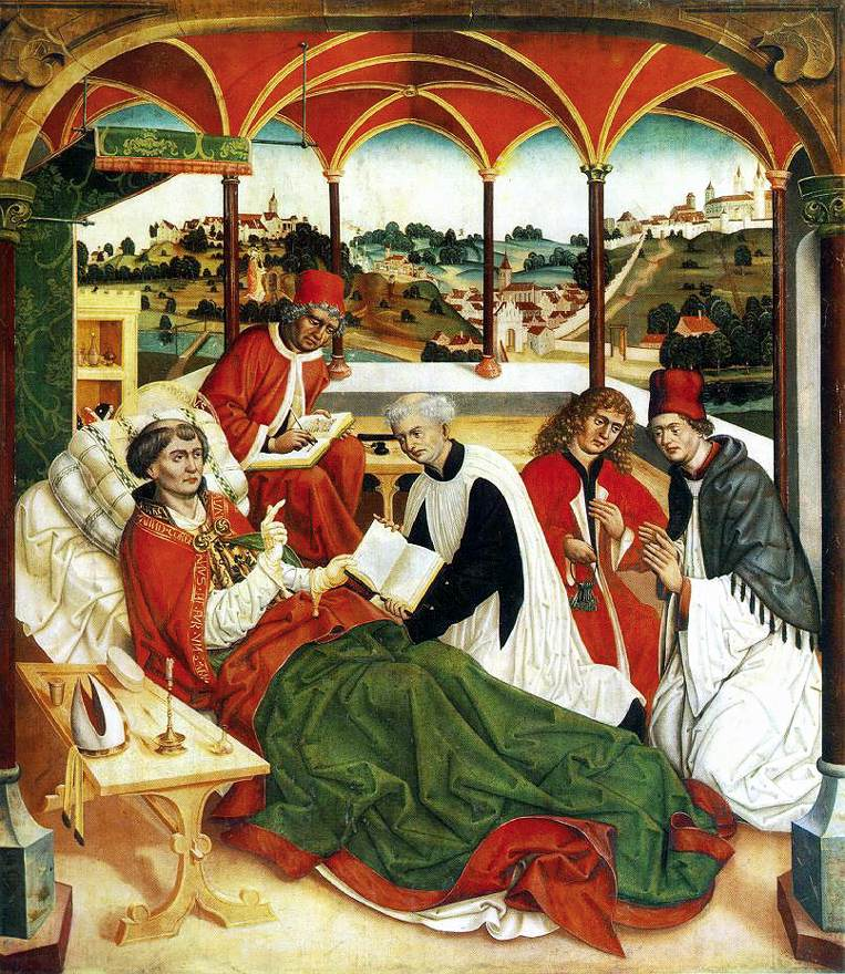 The Death of St Corbinian 1484-85 | Jan Polack | Oil Painting