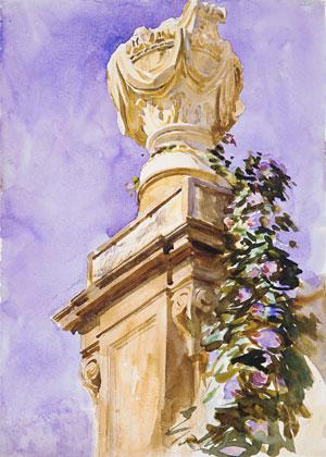 Garden near Lucca ca 1910 | John Singer Sargent | Oil Painting