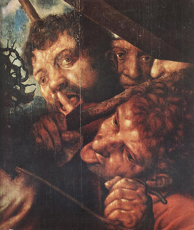 Christ Carrying The Cross (Detail) 1553 | Jan Sanders Van Hemessen | Oil Painting