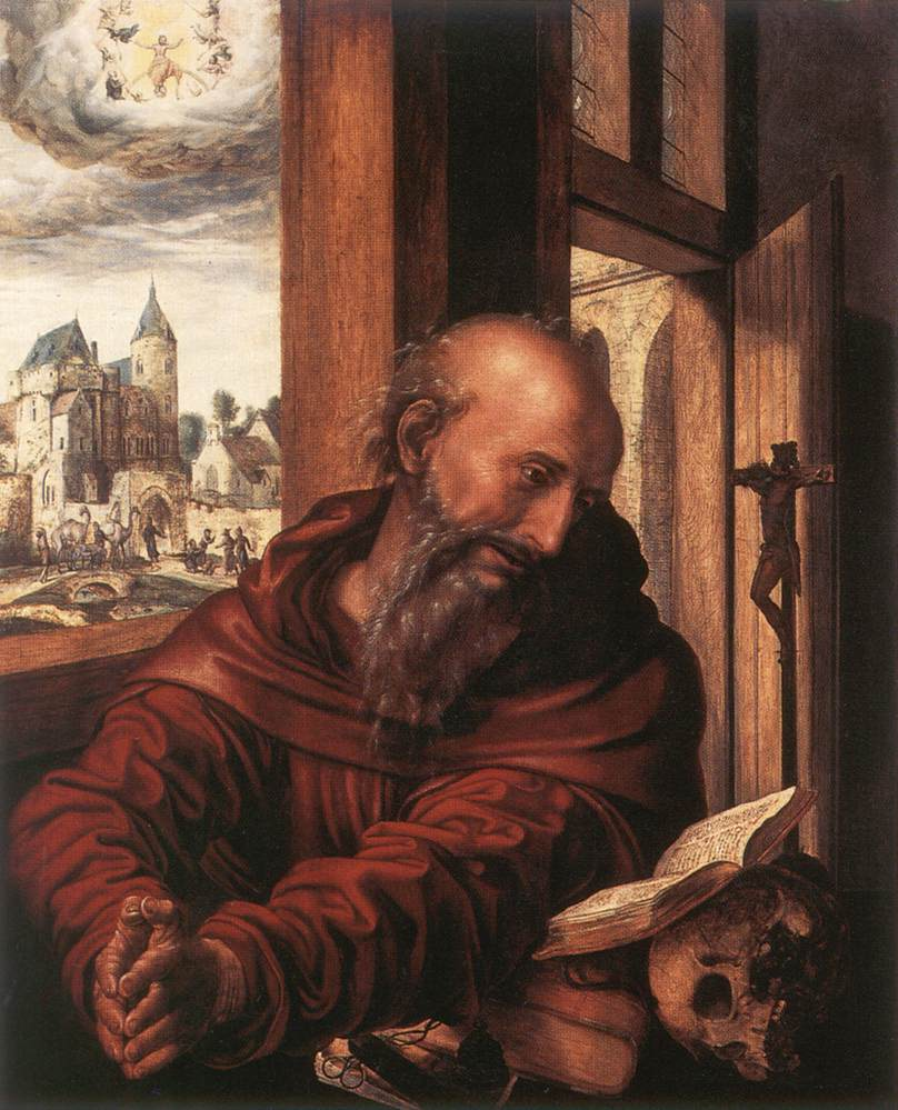 St Jerome | Jan Sanders Van Hemessen | Oil Painting