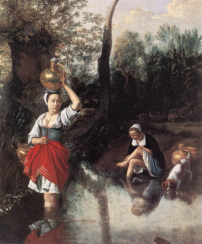 The Wager 1660s | Jan Siberechts | Oil Painting