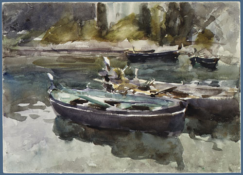 Small Boats 1913 | John Singer Sargent | Oil Painting