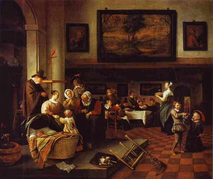 So De Oude Songen | Jan Steen | Oil Painting