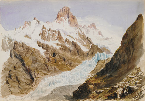 Splendid Mountain Watercolours Sketchbook 1870 | John Singer Sargent | Oil Painting