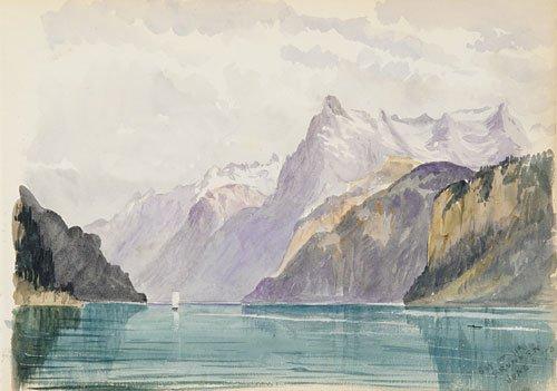 Switzerland 1870 Sketchbook 1870 | John Singer Sargent | Oil Painting