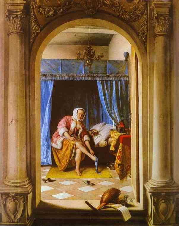 The Morning Toilet 1663 | Jan Steen | Oil Painting