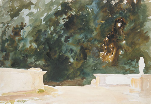 Terrace and Gardens 1907 | John Singer Sargent | Oil Painting