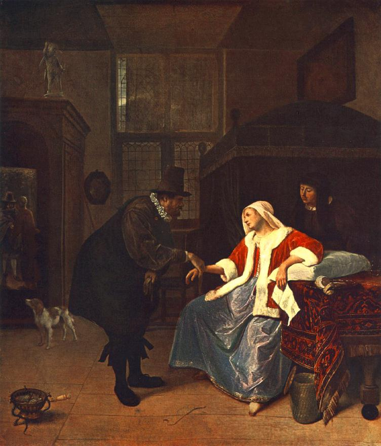 Love Sickness 1660 | Jan Steen | Oil Painting