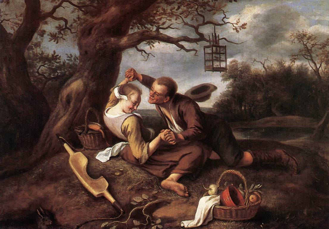 Merry Couple | Jan Steen | Oil Painting
