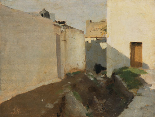 White Walls in Sunlight Morocco | John Singer Sargent | Oil Painting