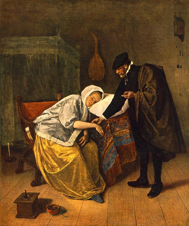 The Doctor And His Patient | Jan Steen | Oil Painting