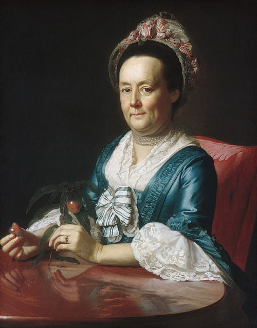 Mrs John Winthrop 1773 | John Singleton Copley | Oil Painting