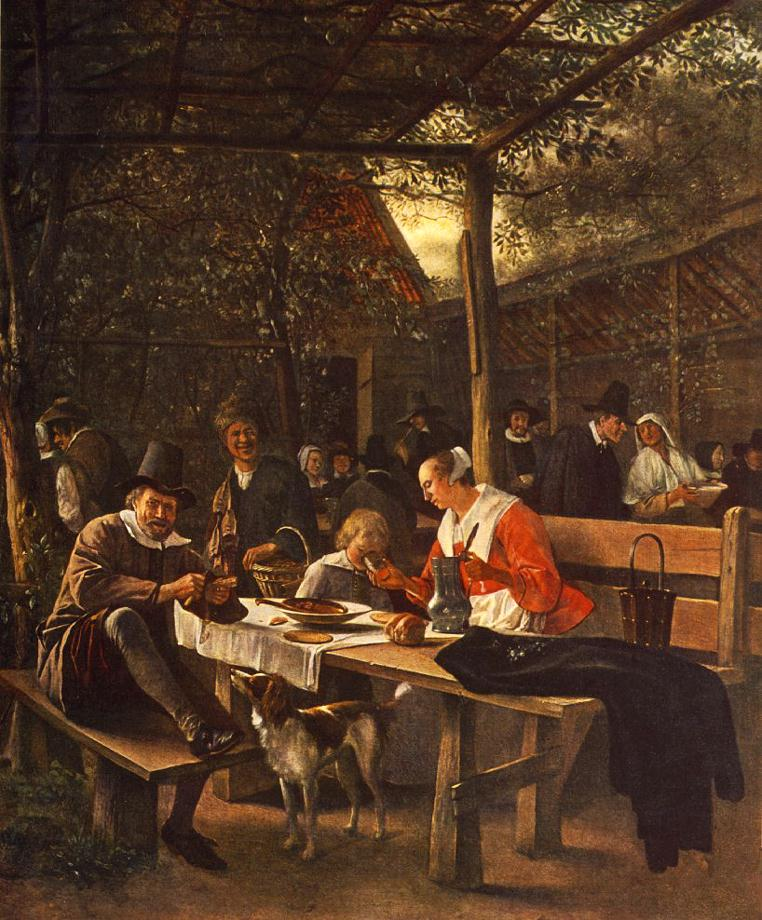 The Picnic | Jan Steen | Oil Painting