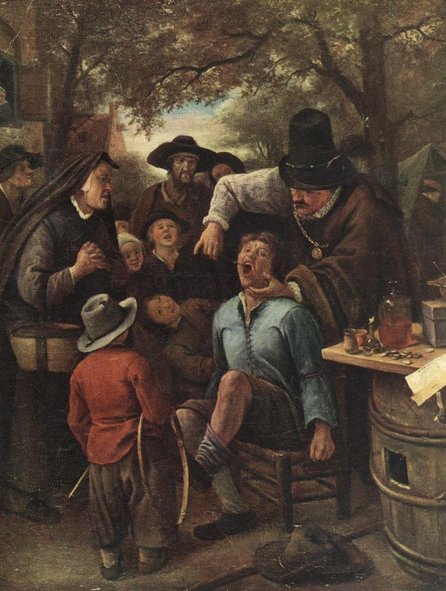 The Quackdoctor | Jan Steen | Oil Painting