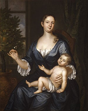 Mrs Francis Brinley and Her Son Francis 1729 | John Smibert | Oil Painting