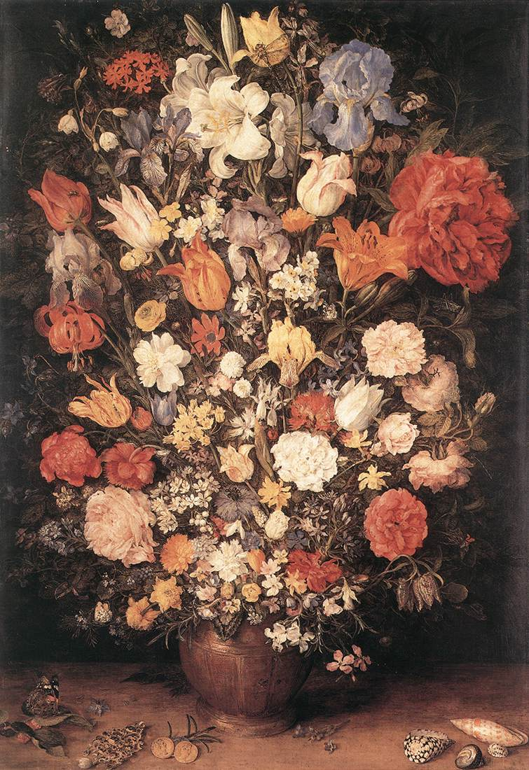 Bouquet 1606 | Jan The Elder Brueghel | Oil Painting