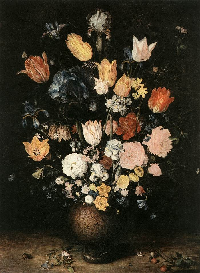 Bouquet Of Flowers | Jan The Elder Brueghel | Oil Painting