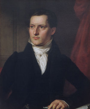 John A Sidell 1830 | John Vanderlyn | Oil Painting